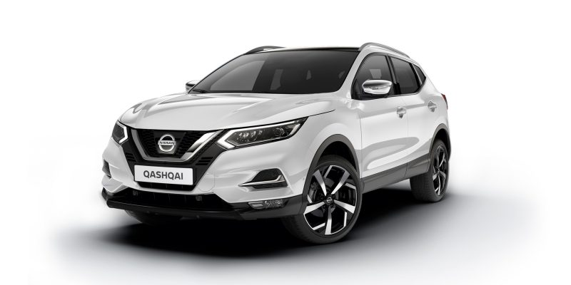 NISSAN QASHQAI Crossover Paket in Black