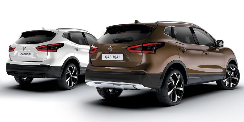 qashqai crossover packs chrome & black