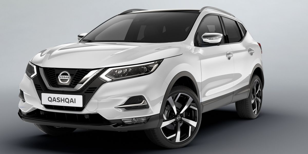 Qashqai 3/4 front with chrome accessories
