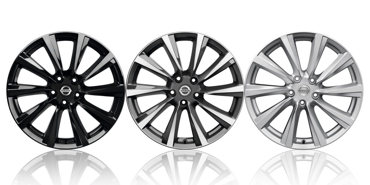 Qashqai Wind design wheels
