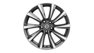 "19"" LICHTMETALEN VELG 'WIND DIAMOND CUT' (DARK GREY)"