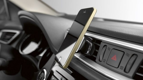 Qashqai smartphone holder push air