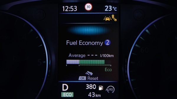 Nissan QASHQAI TFT-display boordcomputer