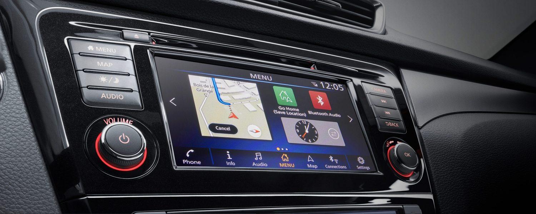 Console NissanConnect du crossover Nissan QASHQAI avec ... ca2355095f0