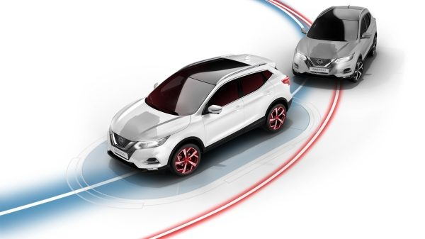 Qashqai Intelligent Trace Control illustration