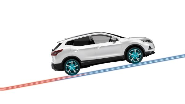 Qashqai Stand still assist illustration