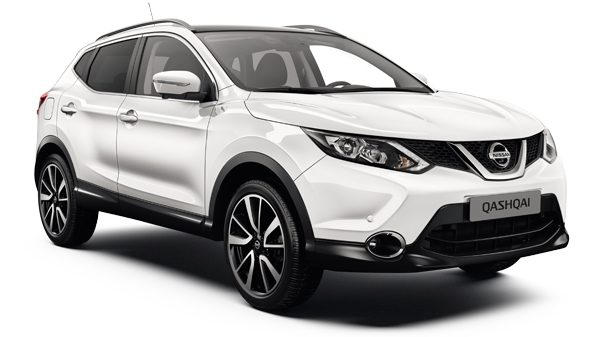 Nissan Qashqai - 3/4 front view
