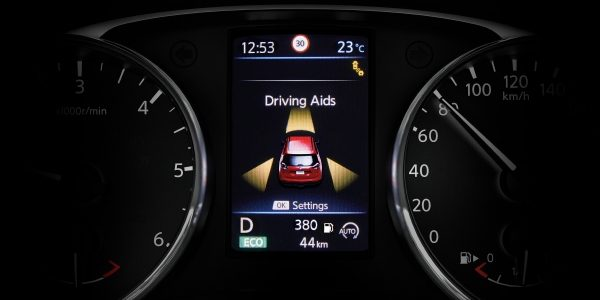 X-Trail TFT screen - Driving aids