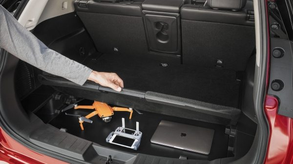 Configurations du coffre du Nissan X-TRAIL - jardin secret