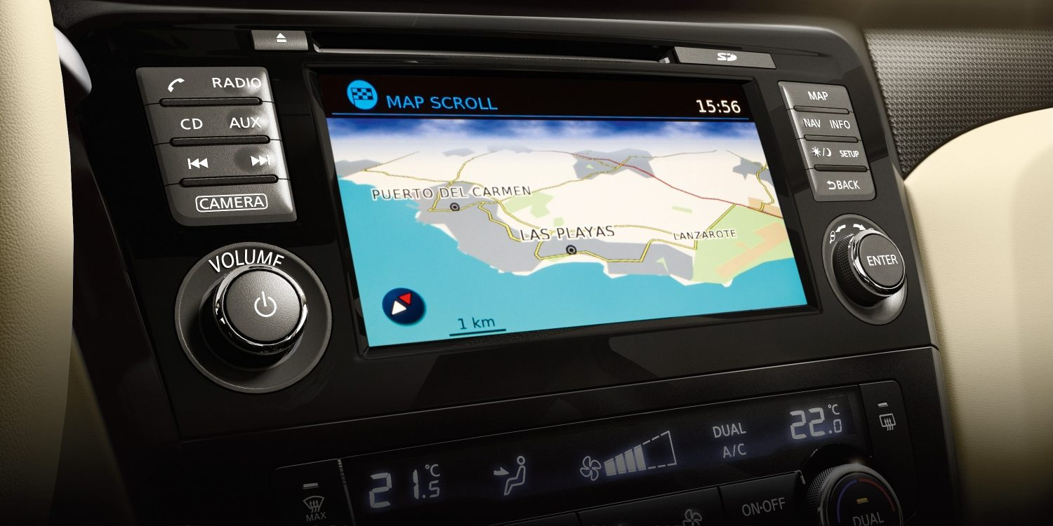 X-Trail NissanConnect screen - Navigation