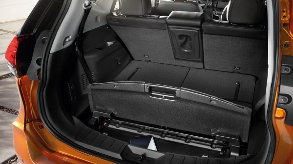 X-Trail Trunk Configurations secret spot