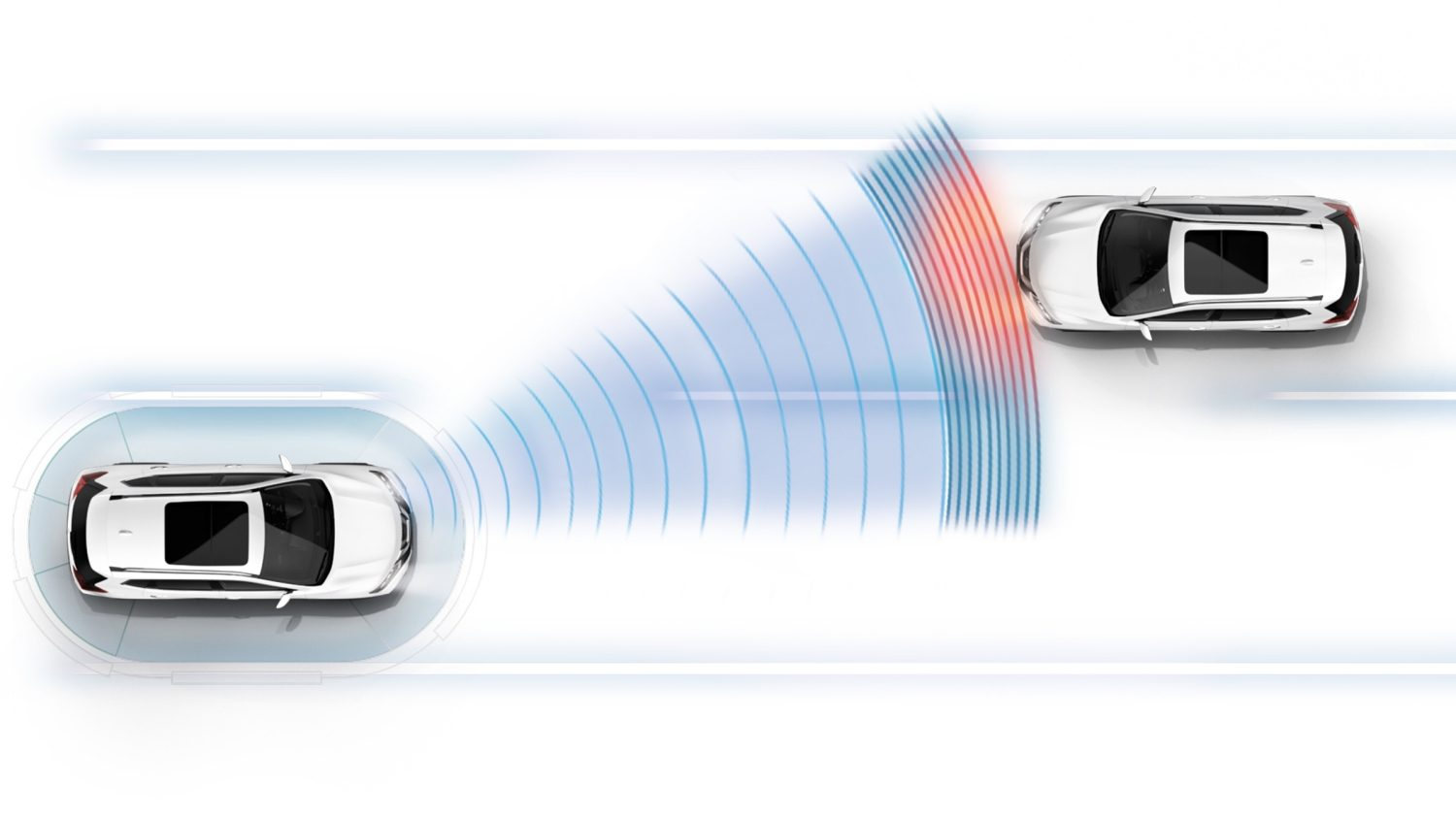 X-Trail Intelligent High Beam Assist Illustration