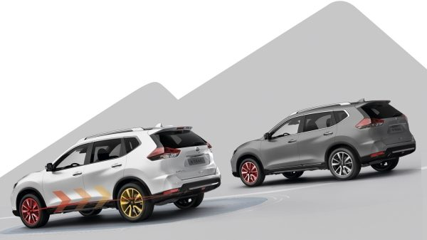 Illustrazione del Sistema Stand Still Assist di Nissan X-TRAIL