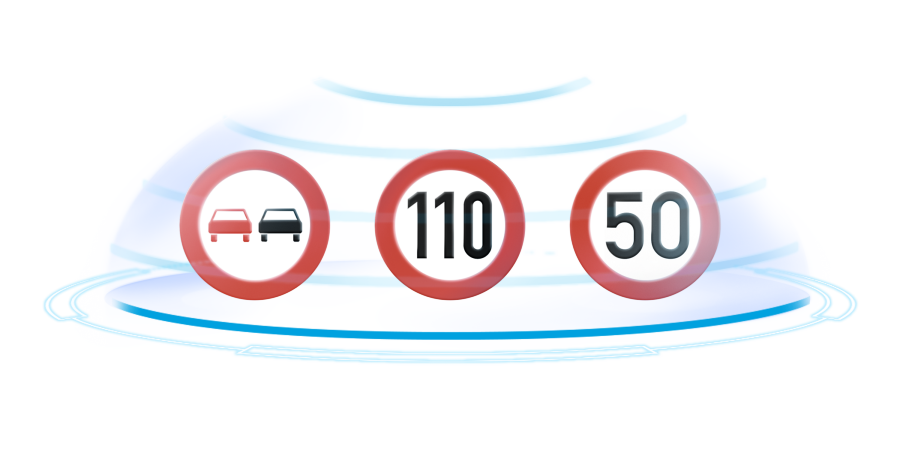 X-Trail Traffic Sign Recognition illustration