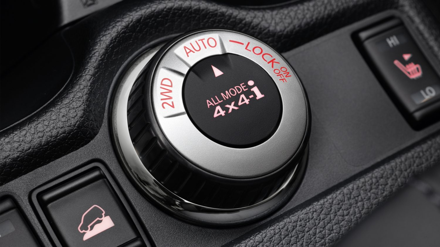 Nissan X-TRAIL detailweergave - Knop All-Mode 4x4-i®