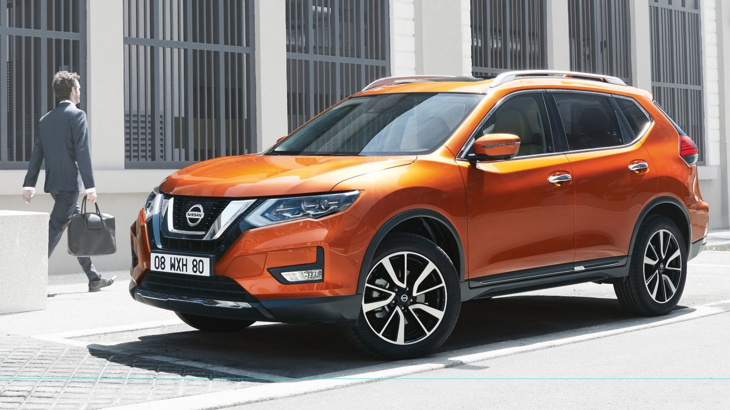 nouveau nissan x trail 2017 4x4 suv 7 places nissan. Black Bedroom Furniture Sets. Home Design Ideas
