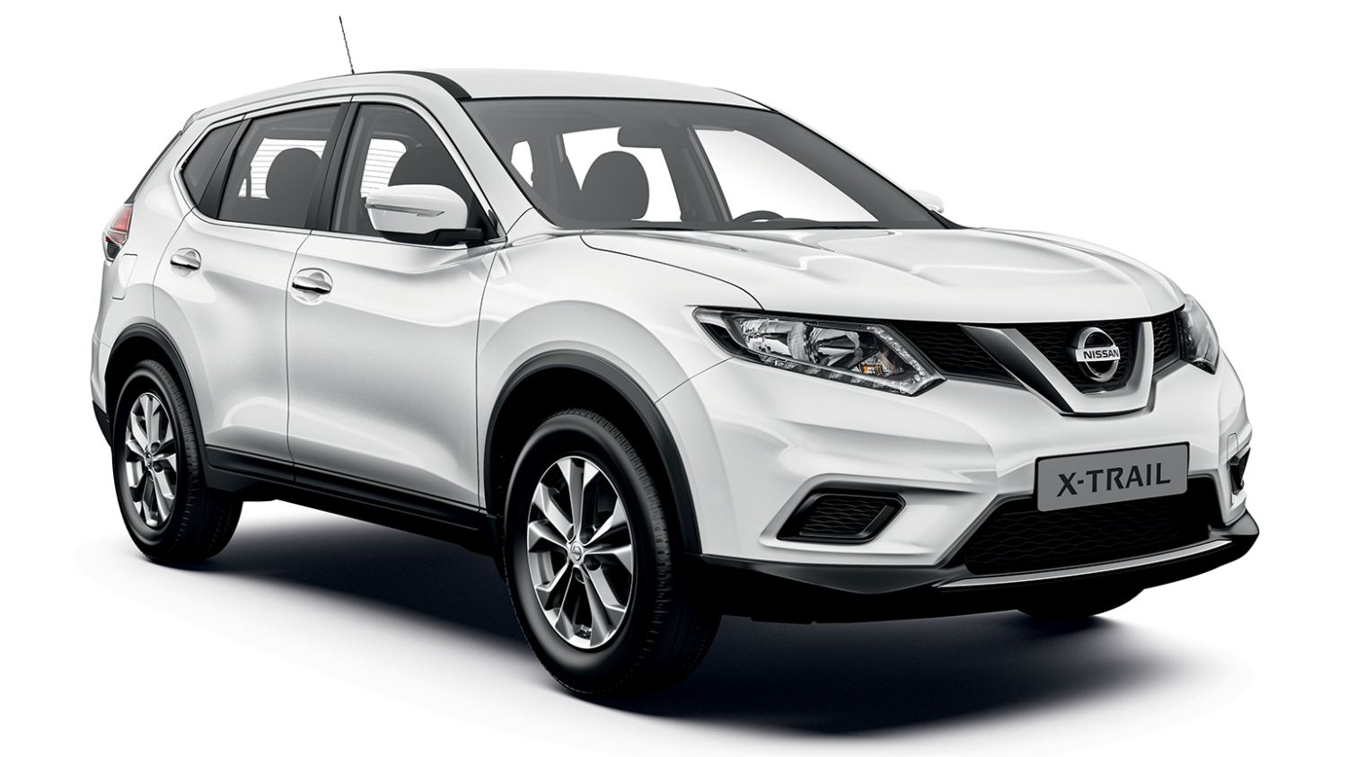 Nissan X-Trail Visia - 3/4 front view