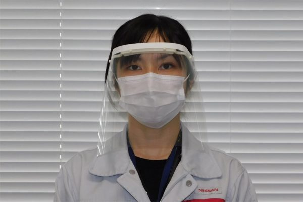 Nissan to make face shields for health care workers in Japan