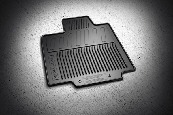 Floor Mats: All Season Black