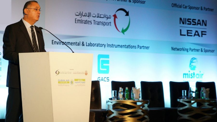 Nissan LEAF Takes Center Stage at Clean Air Forum in Abu Dhabi