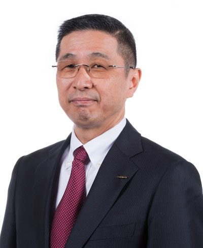 Hiroto Saikawa CEO and Representative Director Nissan Motor Co., Ltd. Yokohama, Japan