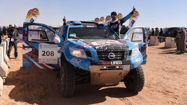 Nissan Dominating the Podium at the Hail Nissan International Rally 2018