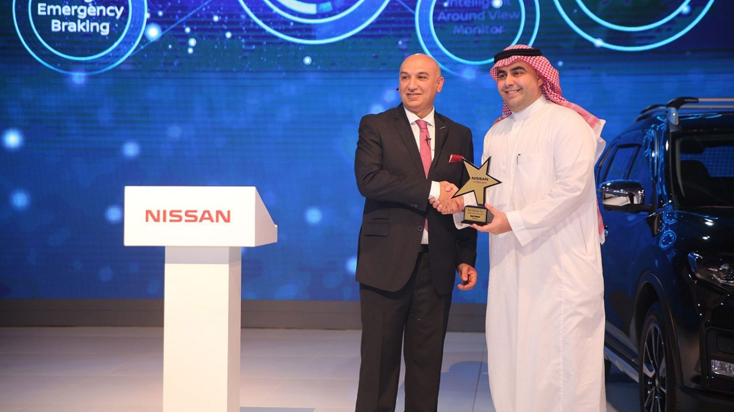 X-Trail Wins the Best Crossover Car During the Saudi International Motor Show