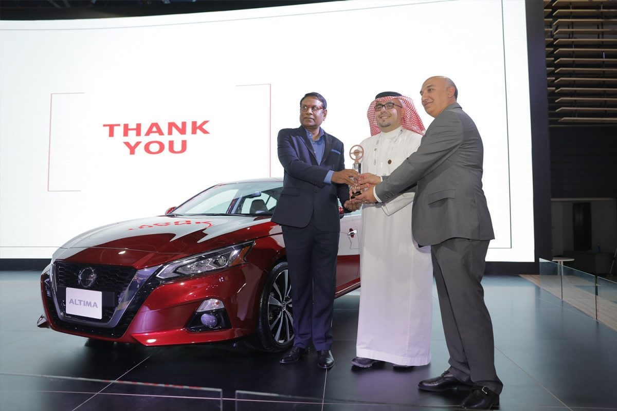 All-New Nissan Altima Wins 'Best Mid-Sized Sedan' During the Saudi International Motor Show