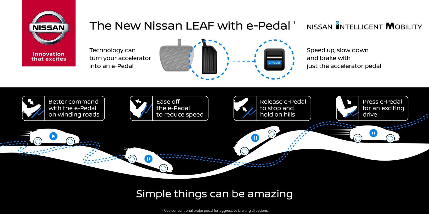 New Nissan LEAF - e-Pedal Teaser Simple things can be amazing.