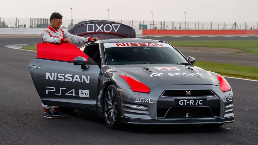 World-first gaming controller operated Nissan GT-R achieves 130+mph run around Silverstone