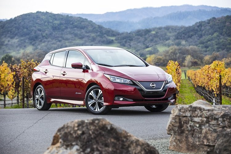 Strong Nissan LEAF sales drive global EV momentum