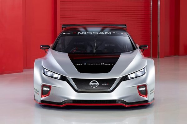 Nissan unleashes all-new LEAF NISMO RC electric race car