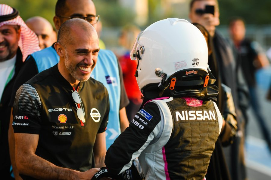 Reem Al-Aboud first Saudi woman to drive hot laps on track in Formula E