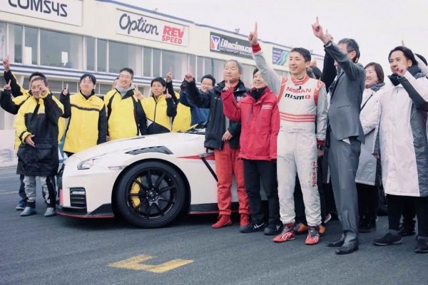 Video Release: Nissan GT-R NISMO breaks lap time record on Tsukuba Circuit in Japan
