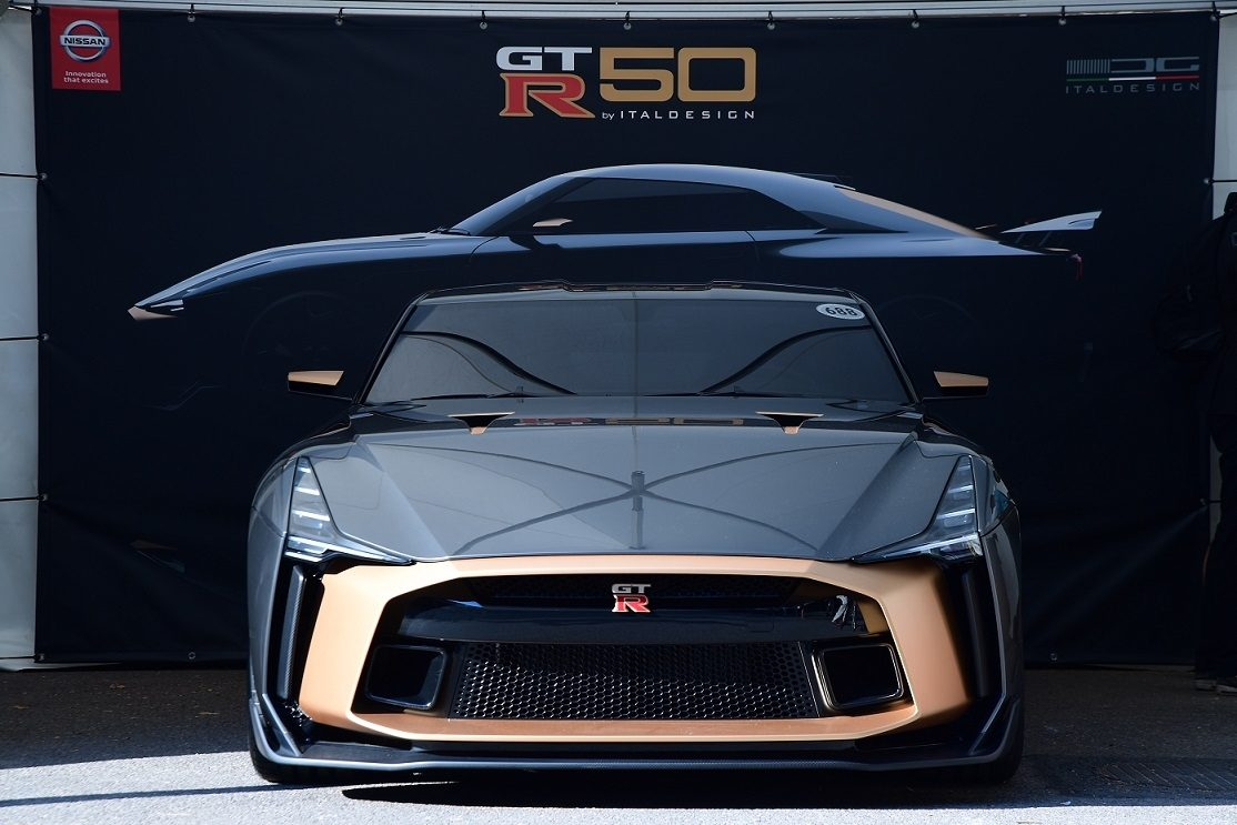 Exclusive Nissan GT-R50 by Italdesign debuts at Goodwood Festival of Speed