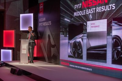 Nissan Reports Continued Growth in the Middle East