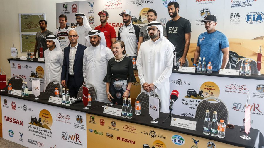 STAGE SET FOR DRAMATIC WORLD CUP ACTION IN DUBAI INTERNATIONAL BAJA POWERED BY NISSAN AND AW ROSTAMANI