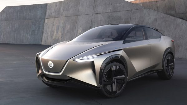 Nissan IMx KURO concept vehicle debuts at Geneva Motor Show
