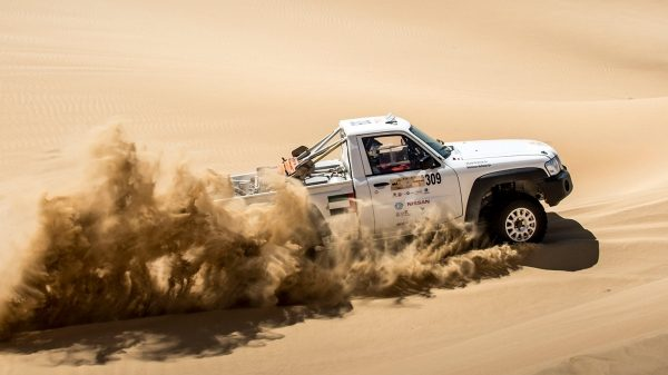 Nissan demonstrates power at the Dubai International Baja