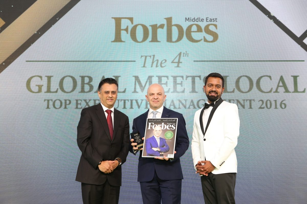 Samir Cherfan's Leadership Recognized by Forbes Middle East for the 3rd consecutive year