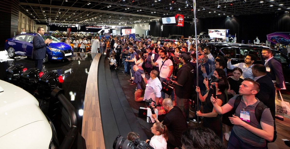 Nissan Middle East showcases automotive innovations at Dubai International Motor Show 2019