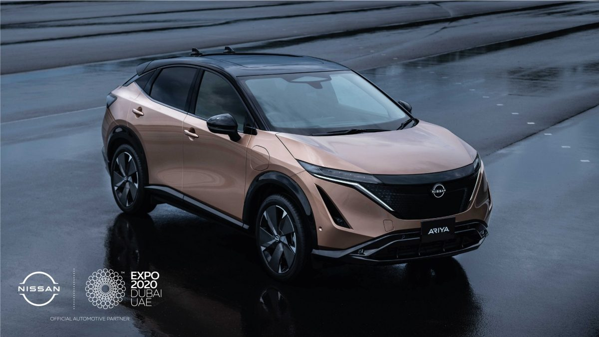 Nissan Ariya to make Middle East debut at Expo 2020 Dubai