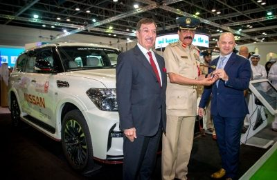 "Dubai Police and Nissan Join Forces with First Innovative Accident Alert Technology ""Smart Response"" in the Middle East"