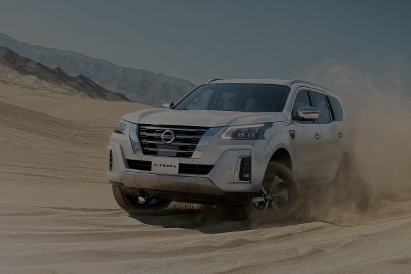 2021 Nissan X-Terra performance in the desert