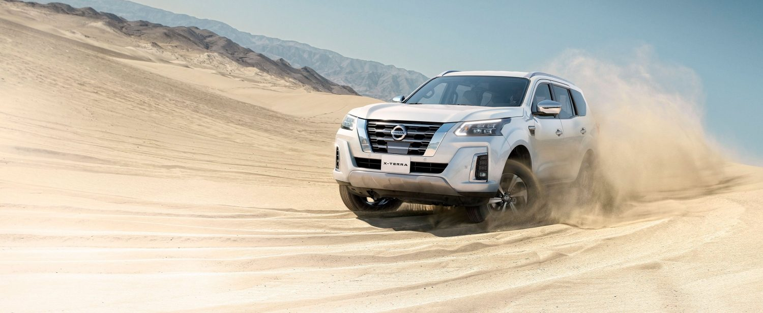 2021 Nissan X-Terra performance in desert