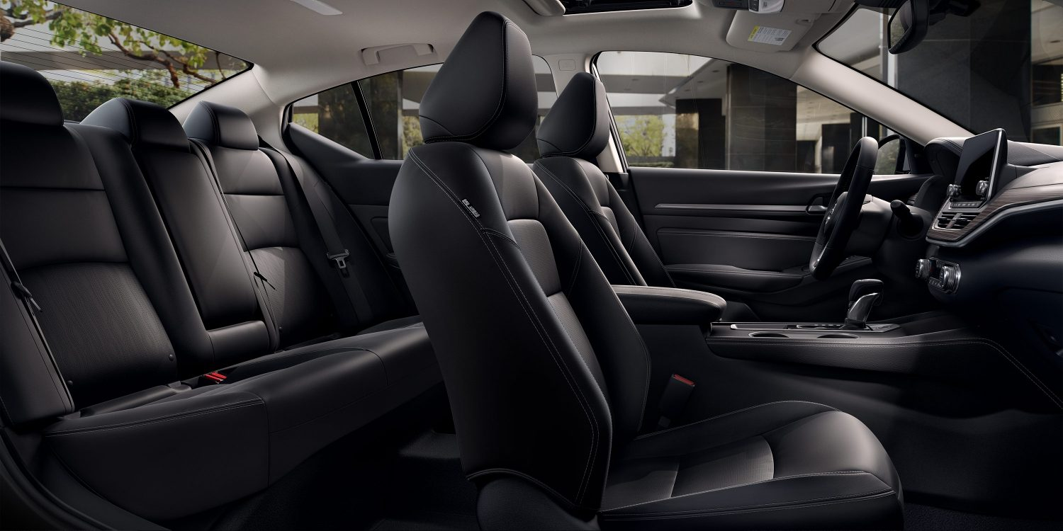 Altima Interior Black Seats