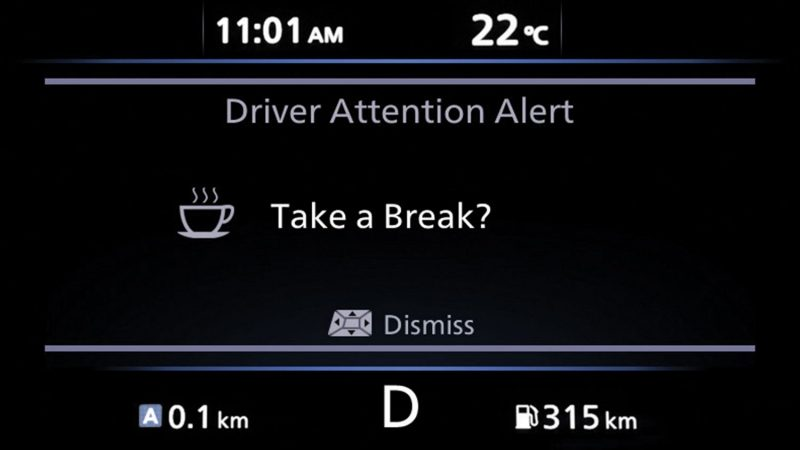 INTELLIGENT DRIVER ALERTNESS