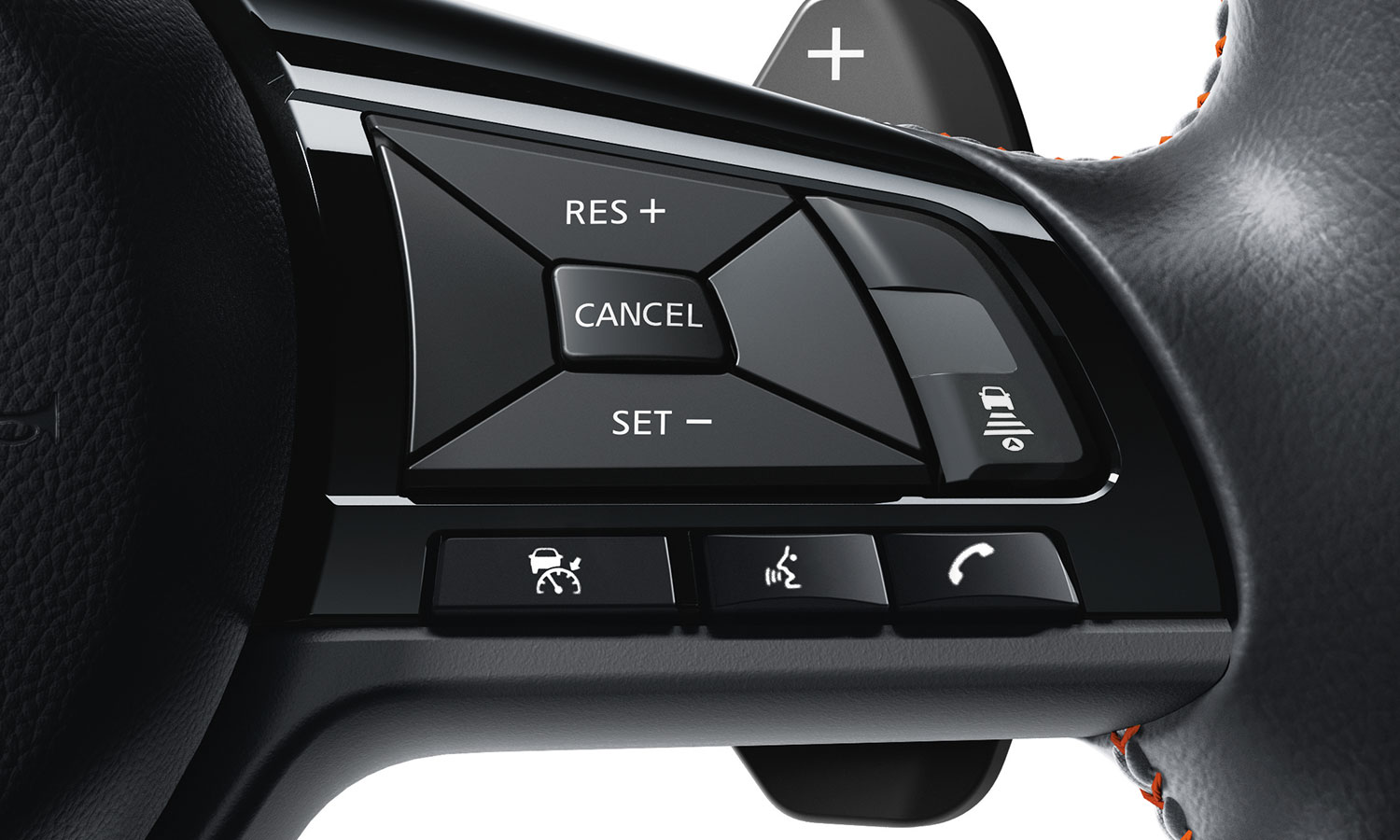 nissan Altima interior steering wheel controls