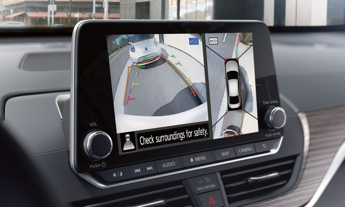 Altima Intelligent Around View Monitor With Moving Object Detection