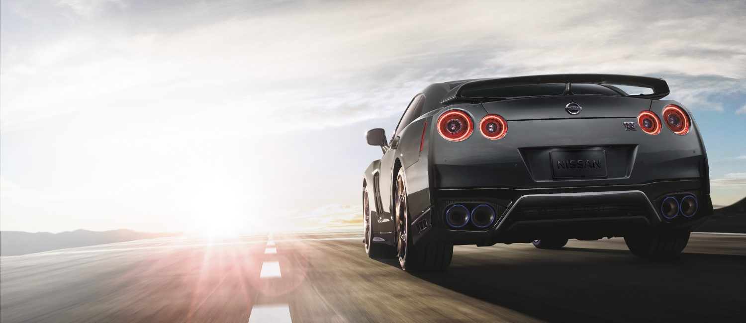 2020 Nissan GT-R on open road